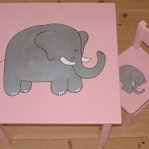 set roze olifant