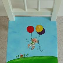 stoel balonnen