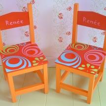 stoelen cirkels