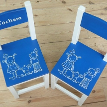 stoelen poppetjes
