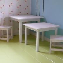 set tafel stoel