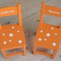 stoelen sterren